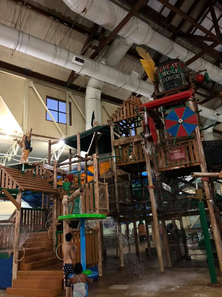 Great Wolf Lodge, water park, Williamsburg, Virginia,